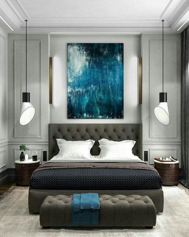 A Statement Lamp Is Always Needed In A Luxury Bedroom Interior Design Project Discover Our Bedr Simple Bedroom Design Modern Bedroom Design Luxurious Bedrooms Simple but luxurious bedroom photo