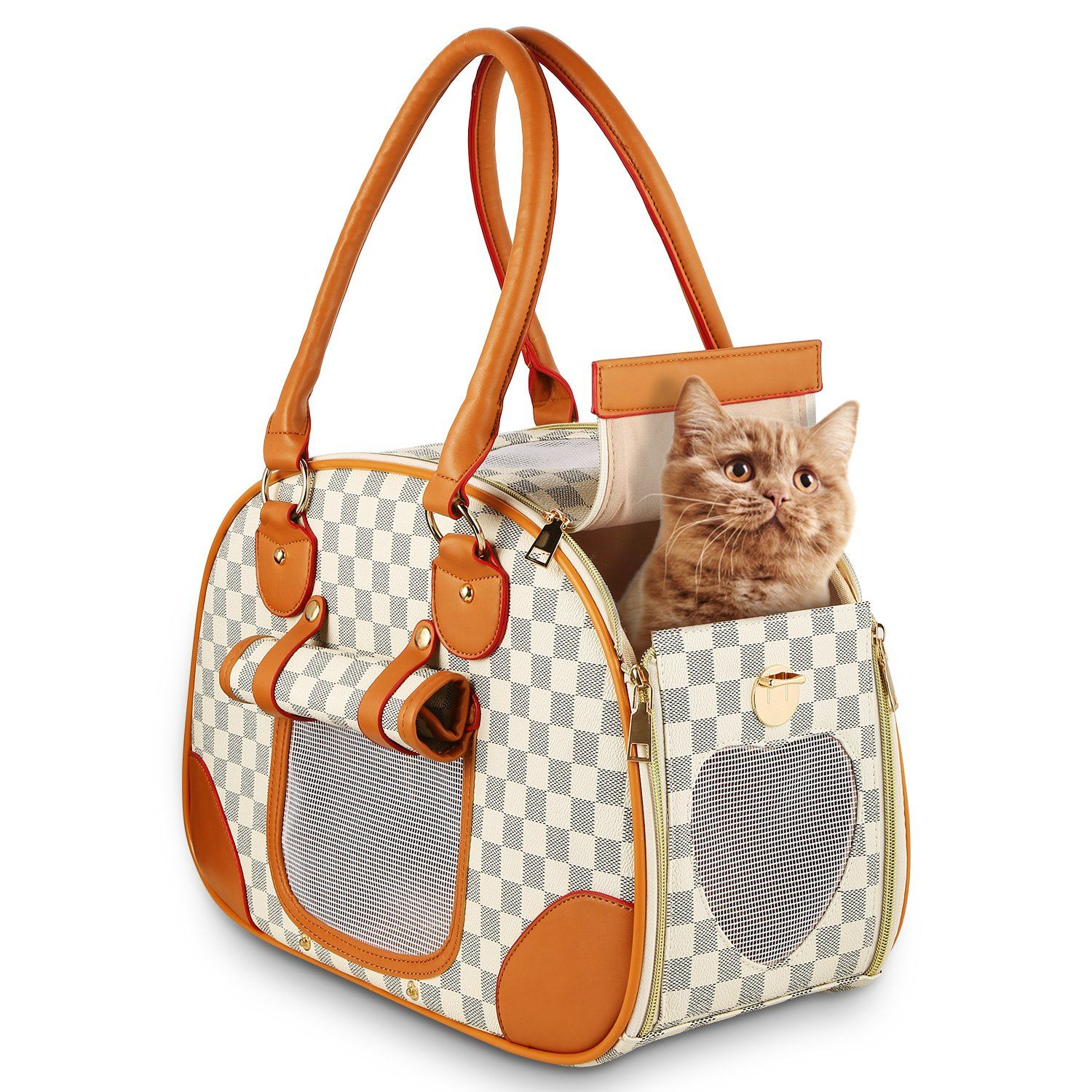 4158a926cc wot i Soft Sided Pet Carrier Cat Carrier Dog Carrier Airline Approved Pet  Carrier Suitable for