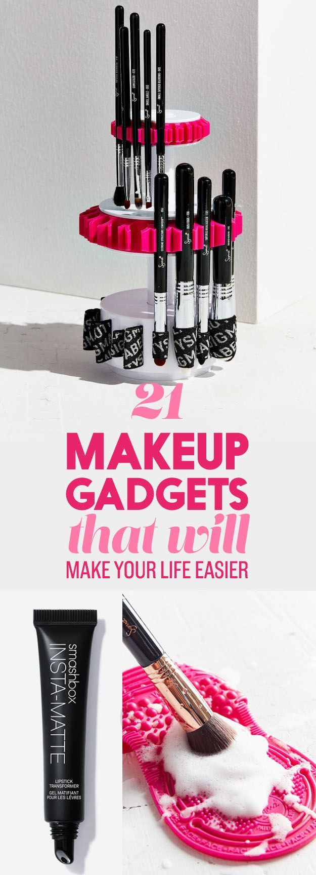 21 Makeup Gadgets That Will Actually Make Your Life Easier