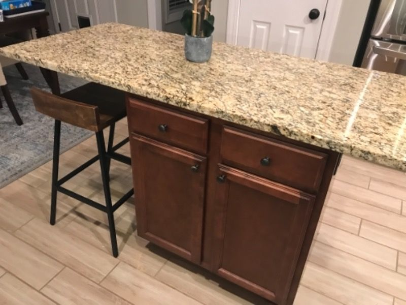 Extend Two Sides Of Your Kitchenisland With Hidden Island Support