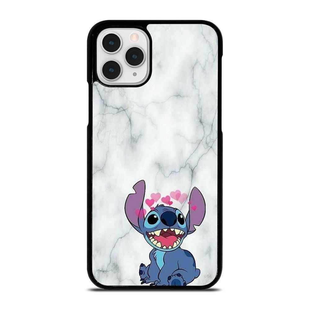 Cute stitch marble iphone 11 pro case cute stitch