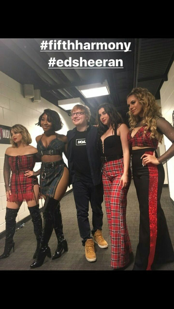 Fifth Harmony e Ed Sheeran