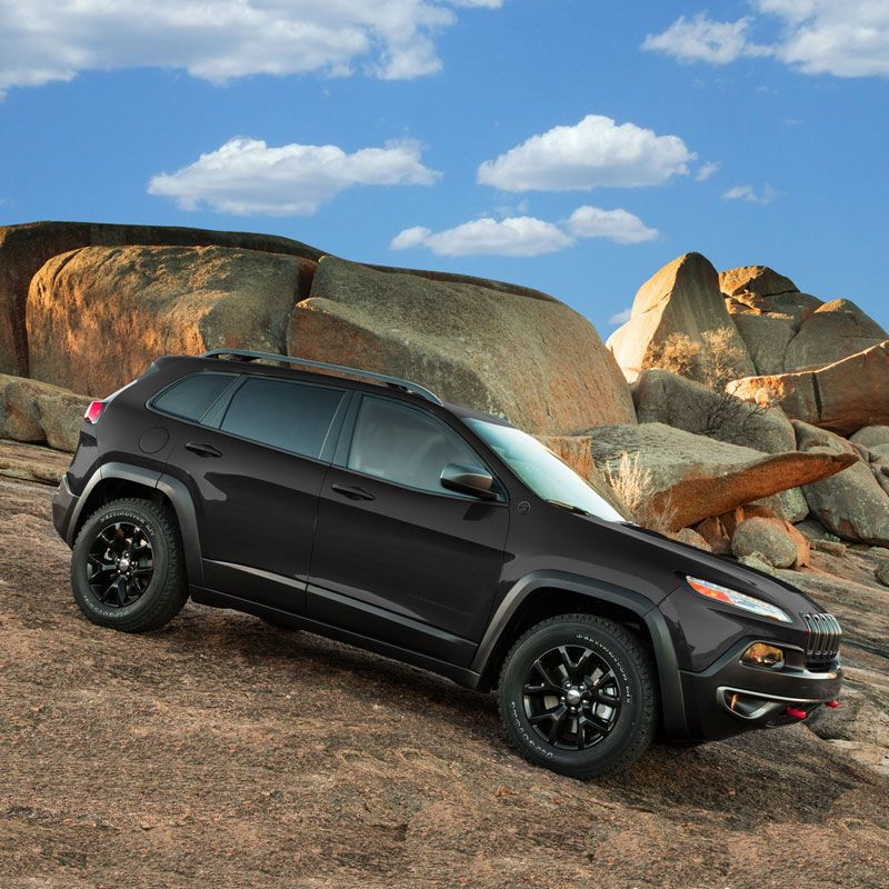 I Ordered A 2014 Jeep Cherokee Trailhawk Black On Black With A