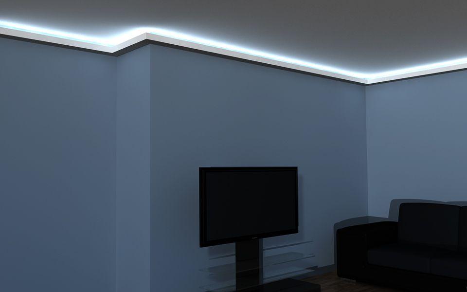 Oświetlenie Sufitowe Aranżacje Listwa Oświetleniowa Led Lo