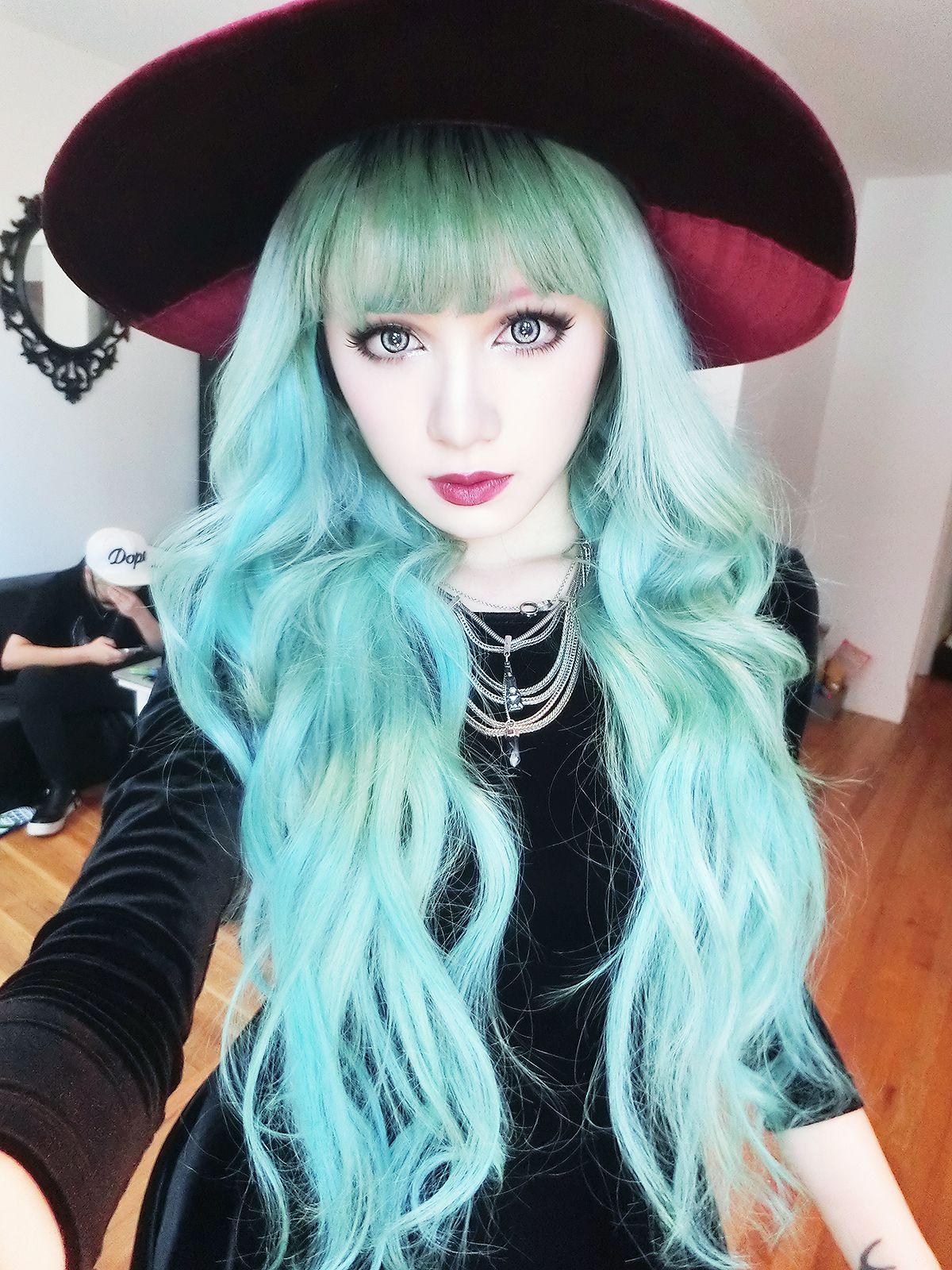 pastel turquoise hair � community hair 3 in 2019