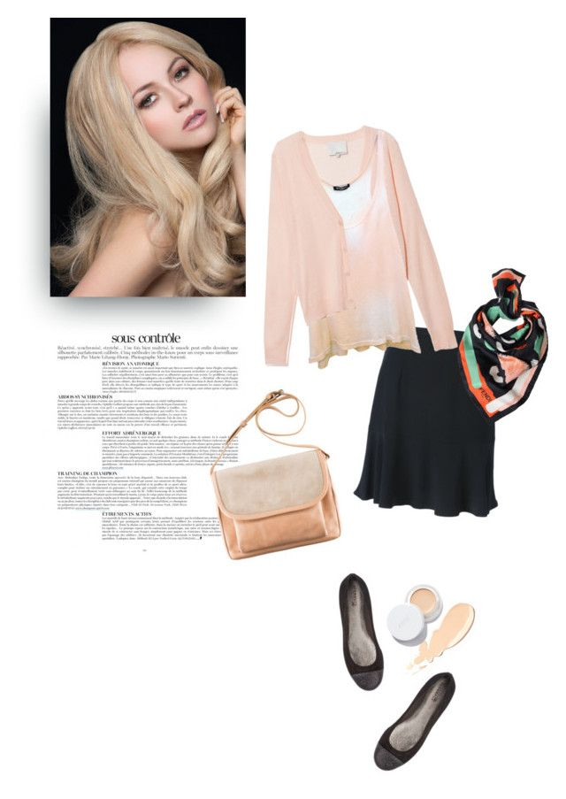 """""""mood1375"""" by du321 ❤ liked on Polyvore featuring Anja, Carven, 3.1 Phillip Lim, Balmain, Supergoop!, rms beauty, Sperry Top-Sider and Fendi"""