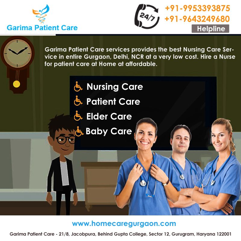 Garima Patient Care provides Home Care Services like