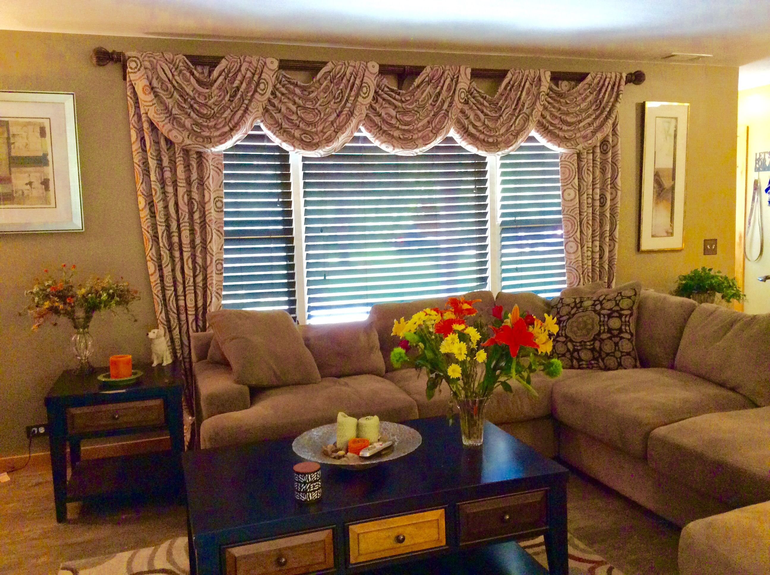swags for living room in long grove il  window styles