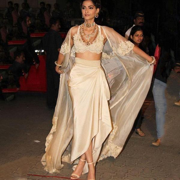 Formal Indian Sari Dress