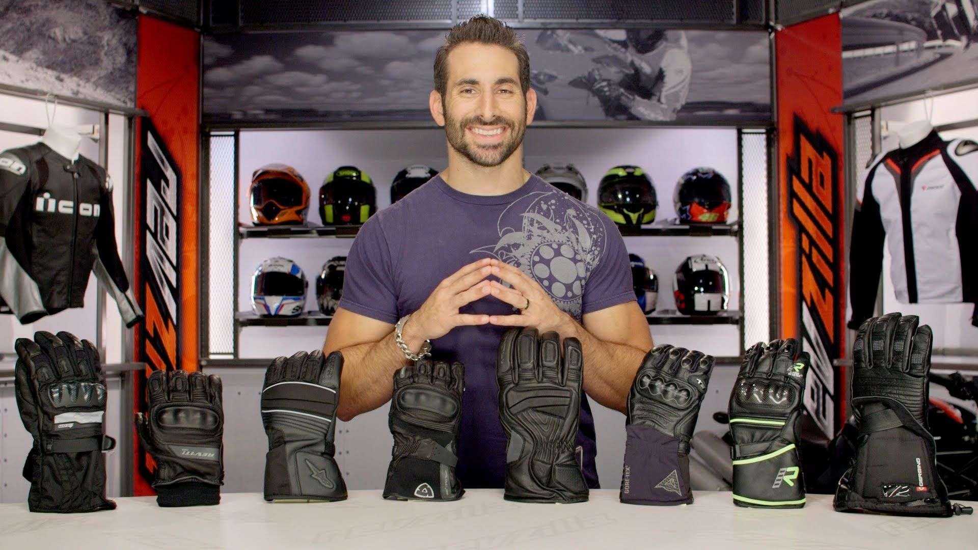Motorcycle gloves guide - Fall 2014 Waterproof Motorcycle Gloves Buying Guide Http Www Revzilla Com