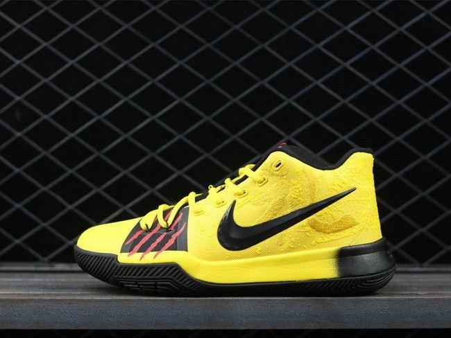 eeac5103e52 Nike Kyrie 3  Mamba Mentality  Tour Yellow Black For Sale
