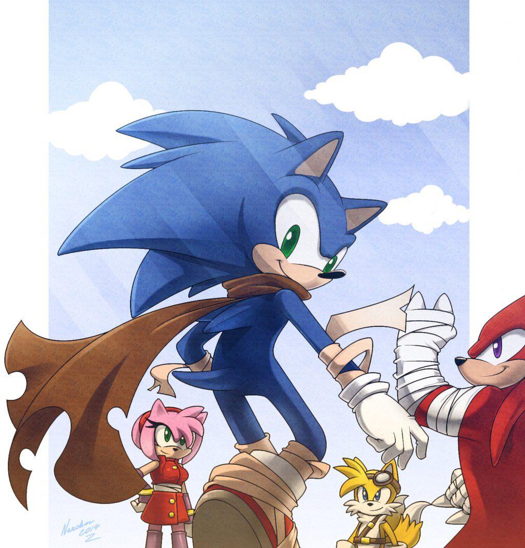 Sonic Boom By Nancher On Deviantart Sonic Sonic Boom Hedgehog Art
