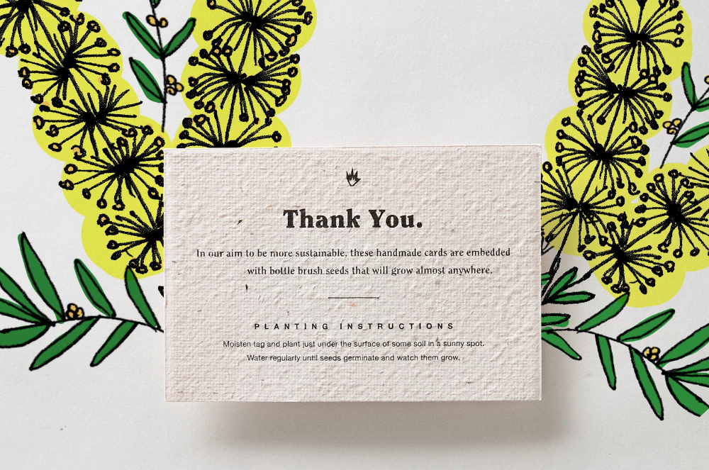 Grow Your Own Initiative Thank You Cards Thank You Cards Thanks Card Cards