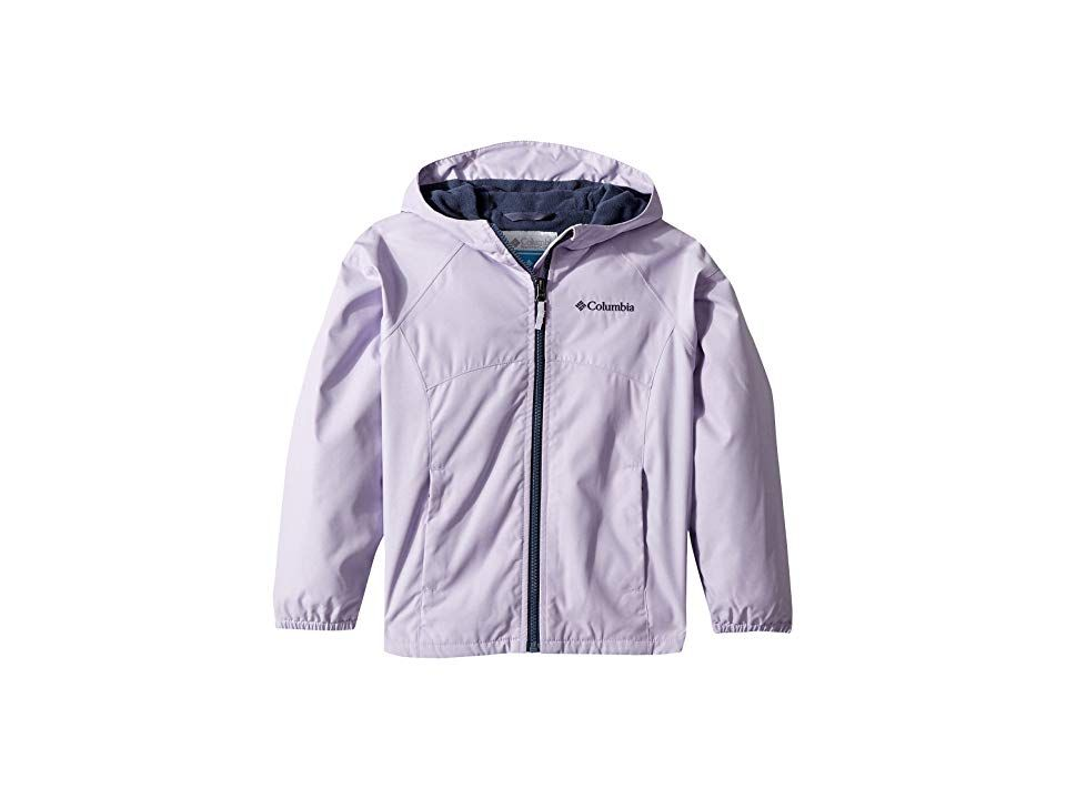 12336610c Columbia Kids Endless Explorer Jacket (Little Kids/Big Kids) (Soft Violet  Heather/Nocturnal) Girl's Coat. A versatile jacket that's perfect for  little ...