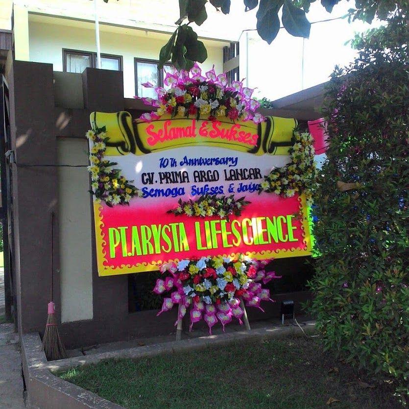 Sign in Bunga, Toko bunga, Karangan bunga