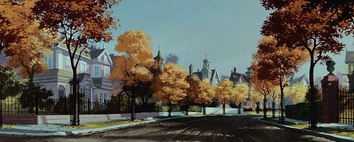 Lady and the Tramp - Backgrounds