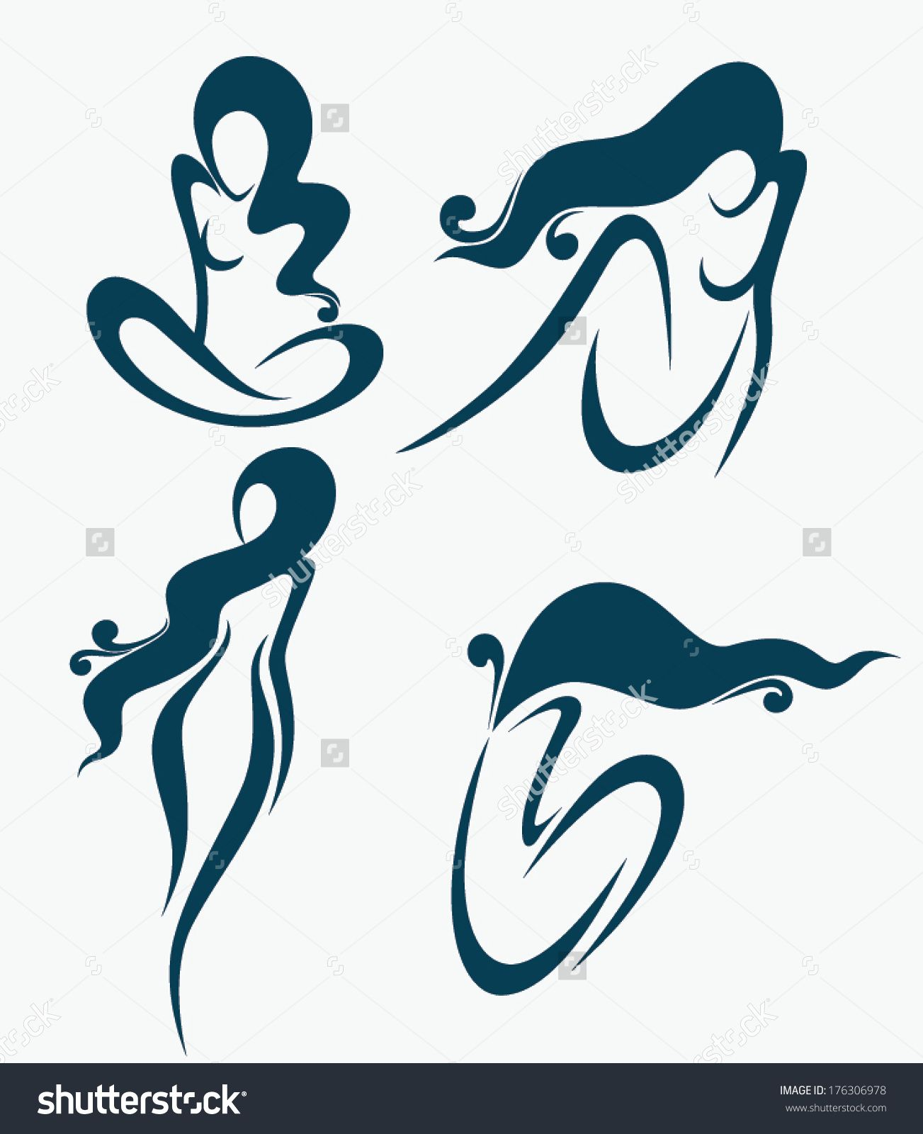 Stock Vector Vector Collection Images And Symbols For Beauty Salon