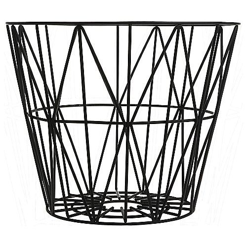 wire basket sage wire baskets black wire basket basket Classroom Storage Bins wire basket korb schwarz klein 40 x ferm living
