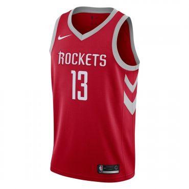 47ba1ef66f9 Nike NBA Houston Rockets James Harden Icon Edition Swingman Jersey ...