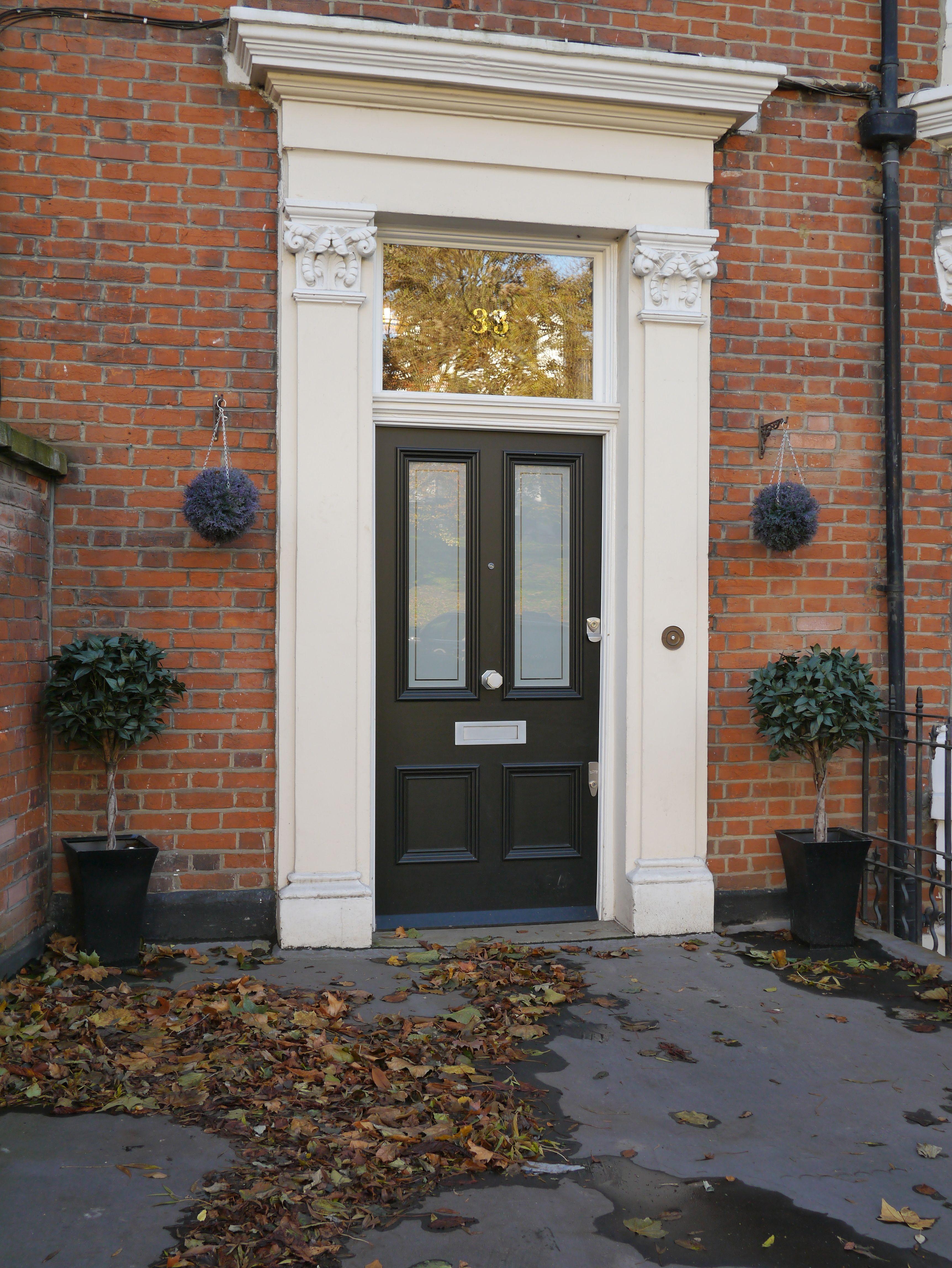 The London Door Company - Front Door Richmond, Surrey - LDC Black ...