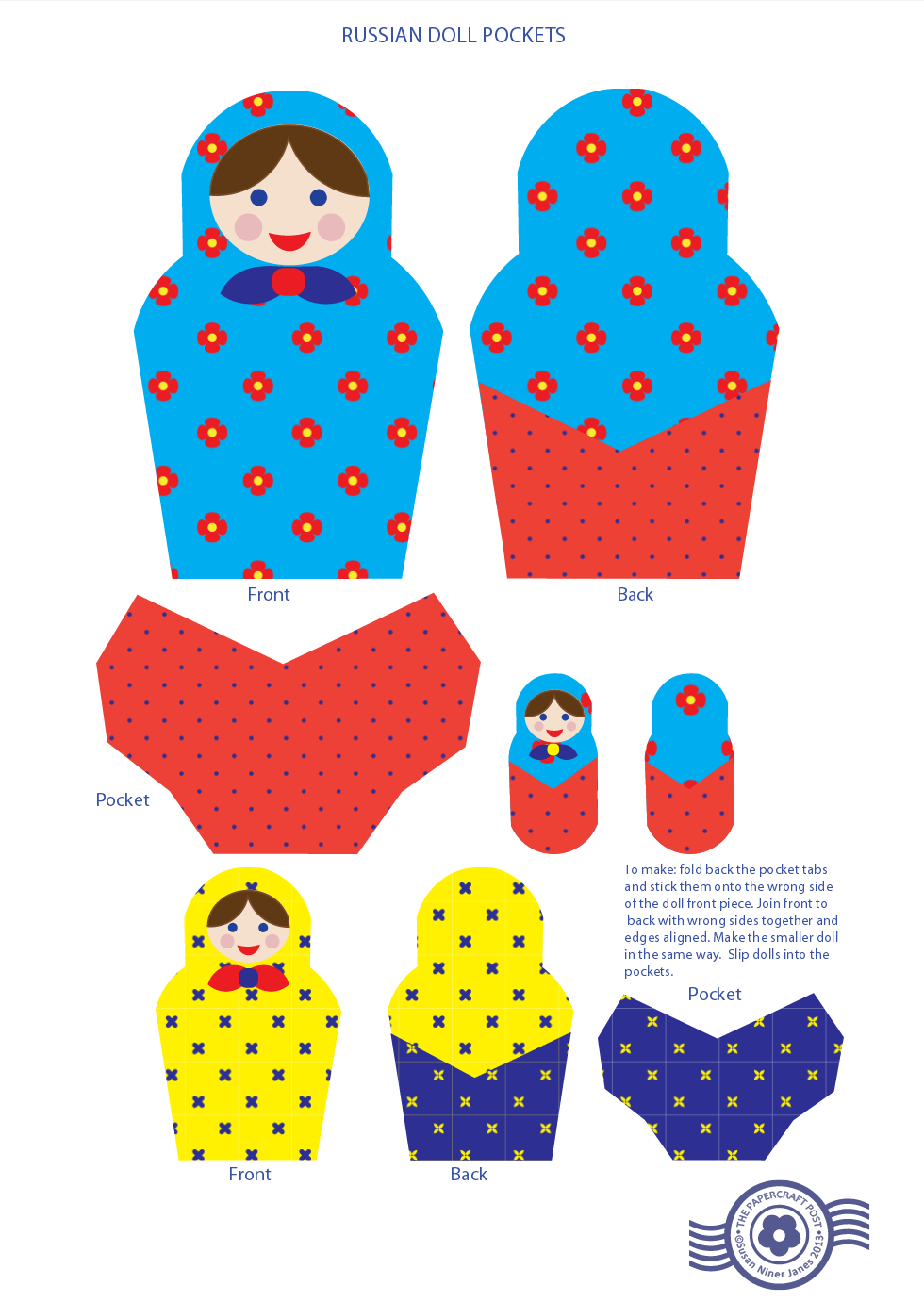 Pin On Matryoshka Russian Dolls Printables