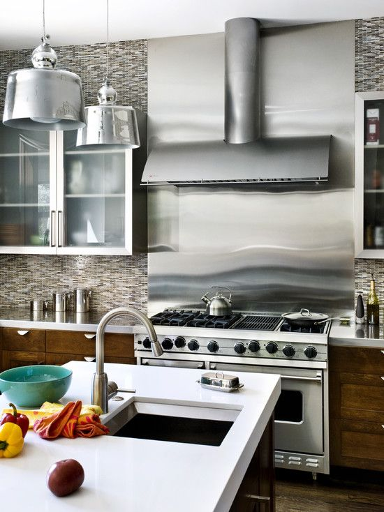 Portfolio Gallery Kitchen- Backsplash Pinterest Eclectic tile