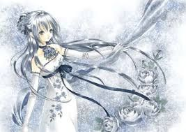 Image Result For Anime Girls With Silver Hair And Green Eyes