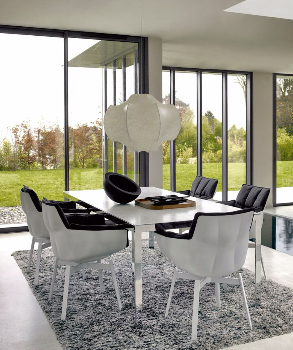 Contemporary Chairs For Dining Room Captivating B&b Italia Dining Room Setsometimes Simple Things Work Bestthe Inspiration