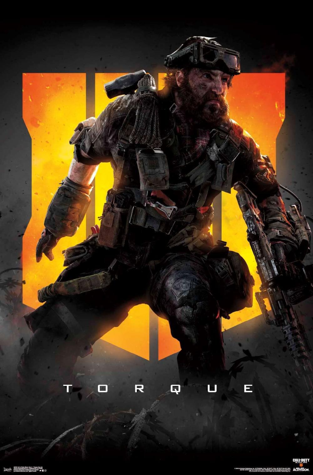 Call Of Duty Black Ops 4 Torque Key Art Call Of Duty Black Ops 3 Call Of Duty Black Black Ops 4