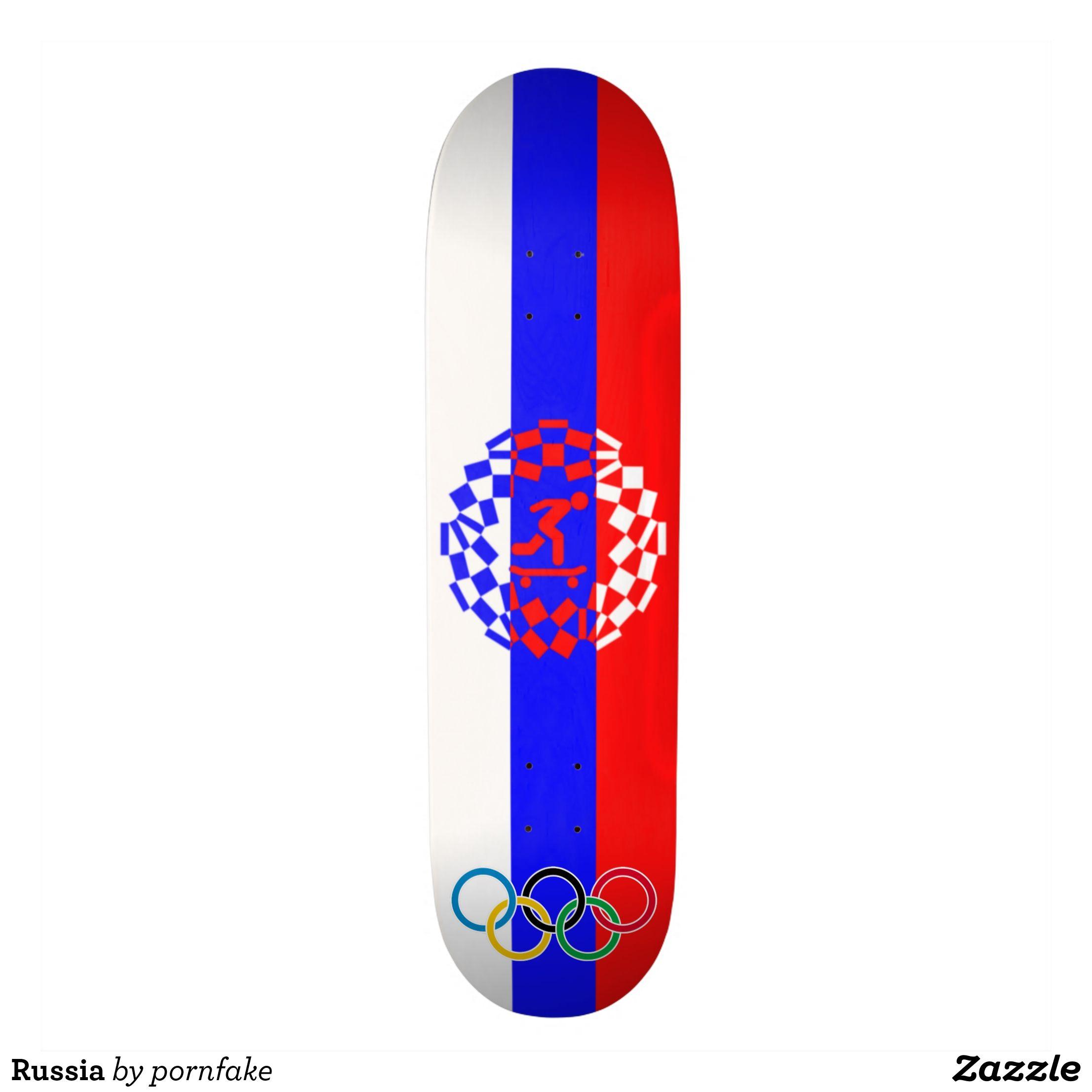 Russia Skateboard Deck Supreme Hard Rock Maple Deck Custom