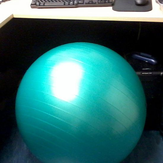 Reasons to Give Up Your Desk Chair For an Exercise Ball #exerciseball