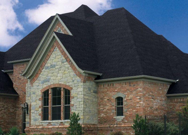 Pinnacle® Roofing Shingles Featuring Scotchgard™ Protector   Black Shadow