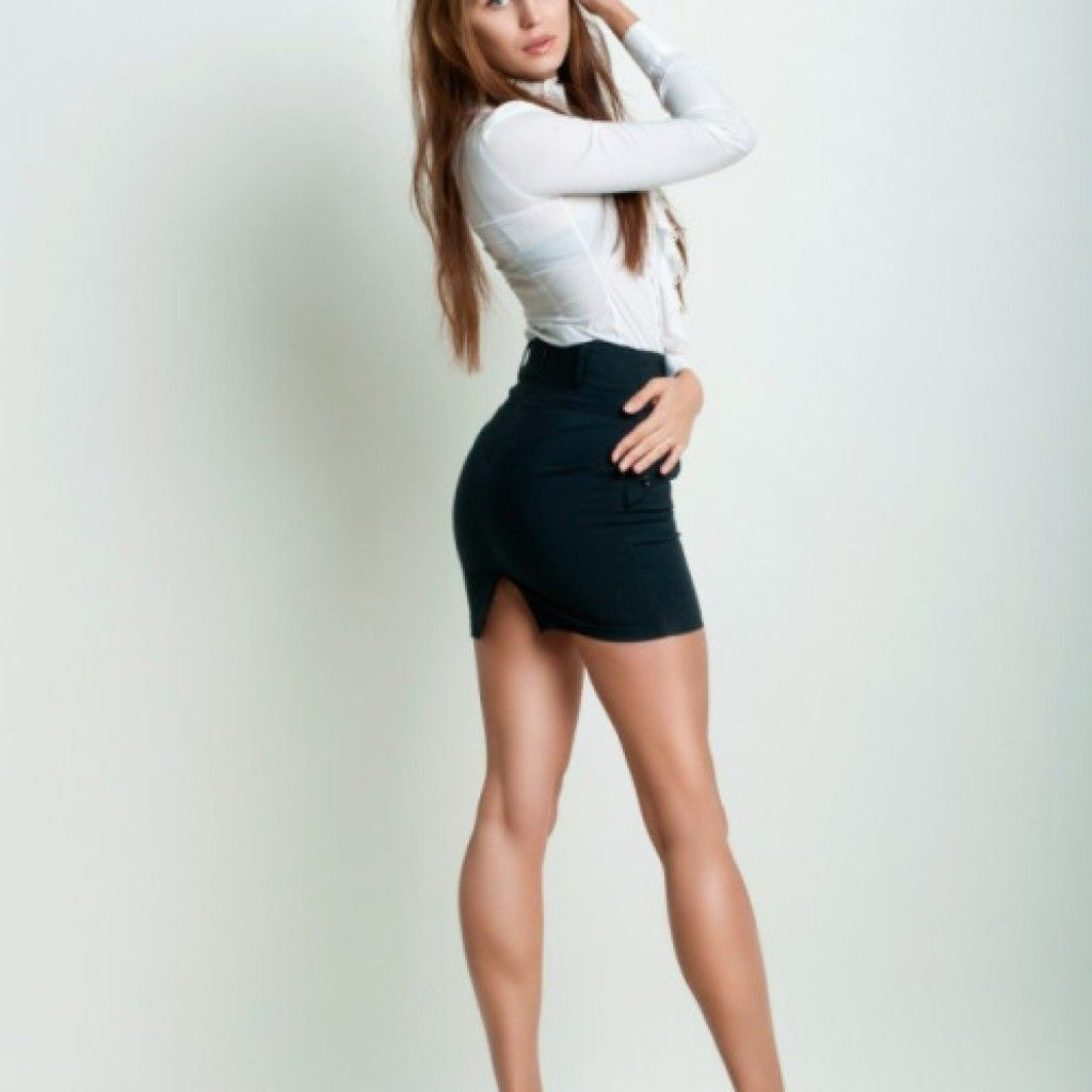 Sekretarka Sukienki Mini Dziewczyny Kobieta