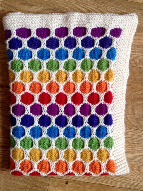 Free Knitting Patterns For Baby Blankets Knit Patterns Honeycomb