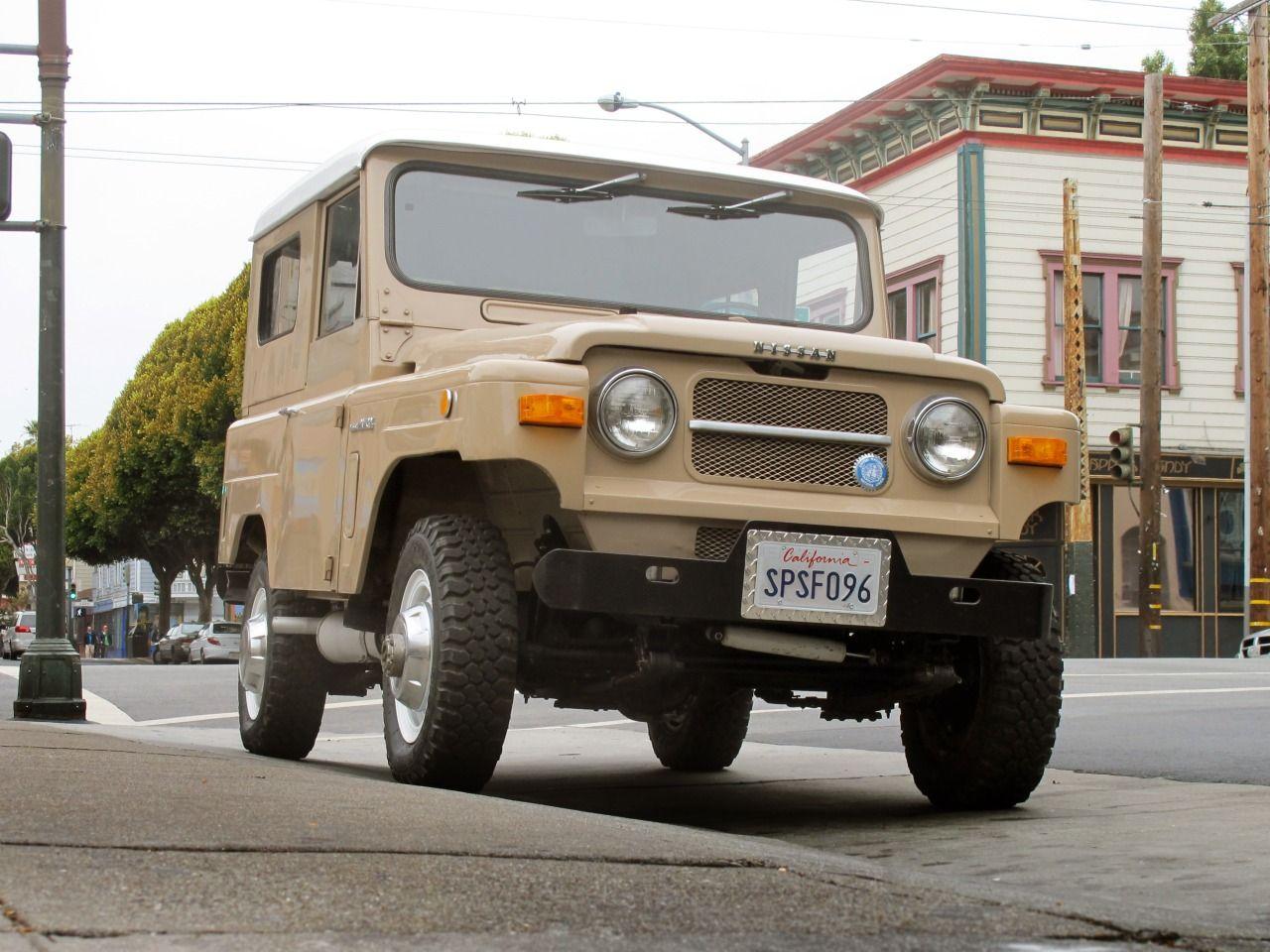 streetparkedsf: Nissan Patrol 60 | 1969 No, it's not a