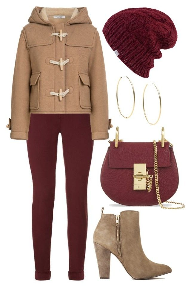 """Untitled #1303"" by cecilia-rebecca-stagrum-buch on Polyvore featuring J Brand, Philosophy di Lorenzo Serafini, Steve Madden, Chloé, Coal and Michael Kors"