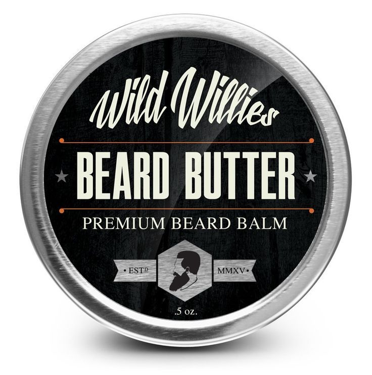 Wild Willie's Beard Butter - The Only Beard Balm with 13 Natural/Organic Ingredients to Condition and Treat Your Beard or Mustache At the Same Time. Made with Shea Butter, Yellow Beeswax, Sweet Almond Oil, Apricot Oil, Gold Jojoba Oil, Castor Oil, Argan Oil, Emu Oil, Tamanu Oil, Vitamin E, Tea Tree Essential Oil, Cedarwood Essential Oil, Rosemary Essential Oil. Fast Growing, Healthy, and Studly Beard. Made By Hand in the USA. 0.5 Ounce