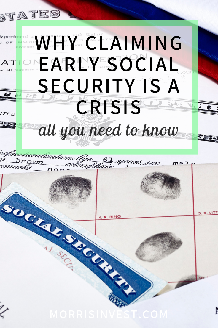 Claiming Social Security Early Is a Retirement Crisis