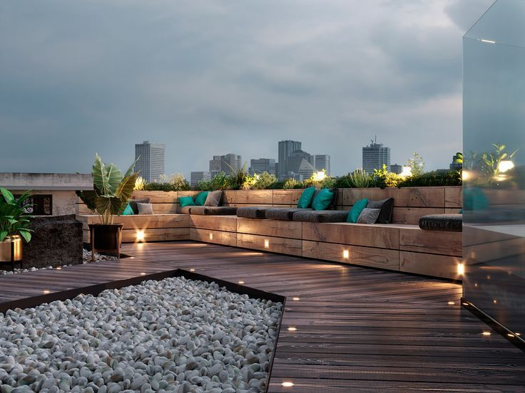 Photo of Office terrace project in the center of Kiev on Behance, #Behance #Center #Kiev # Büro # …,…