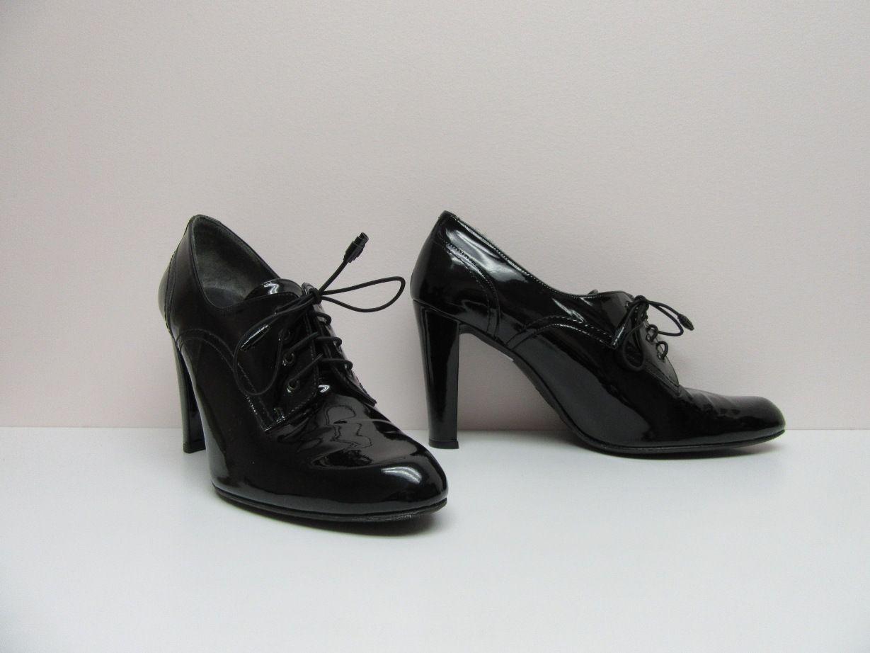 Stuart Weitzman Patent Leather Lace-Up Oxfords sale online shop outlet exclusive NCC5vl