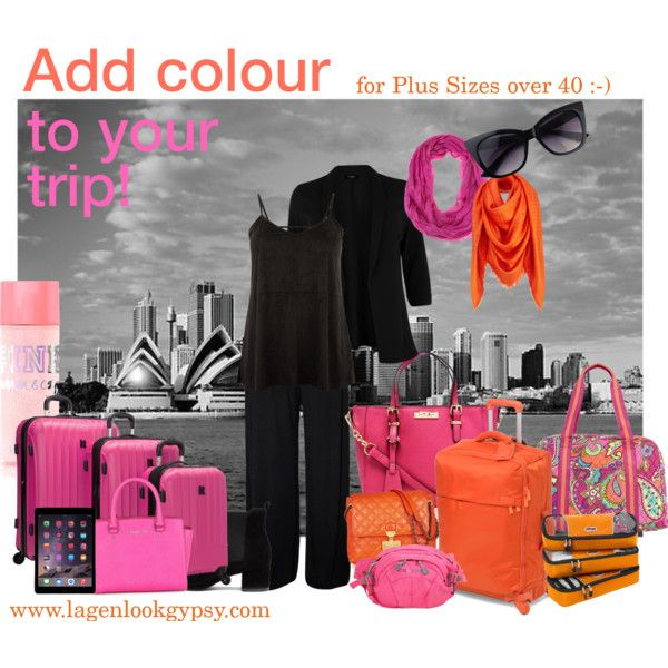 Plus Size Styling - Add colour