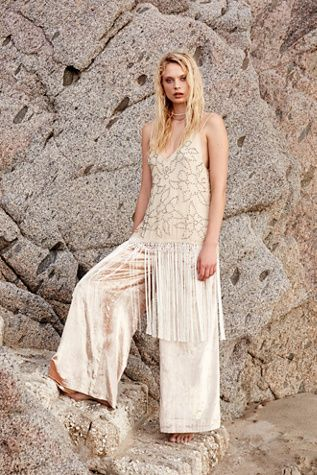 Womens MIDNIGHT PARTY FRINGE - Bohemian Summer Fashion Trend 2017