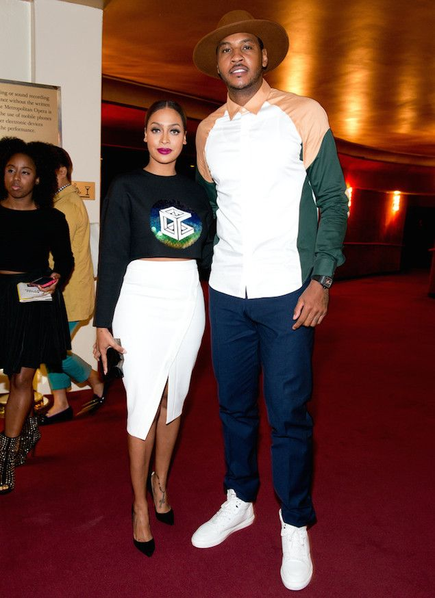 Carmelo Anthony Wears Opening Ceremony Shirt and Balenciaga Sneakers for NYFW   UpscaleHype