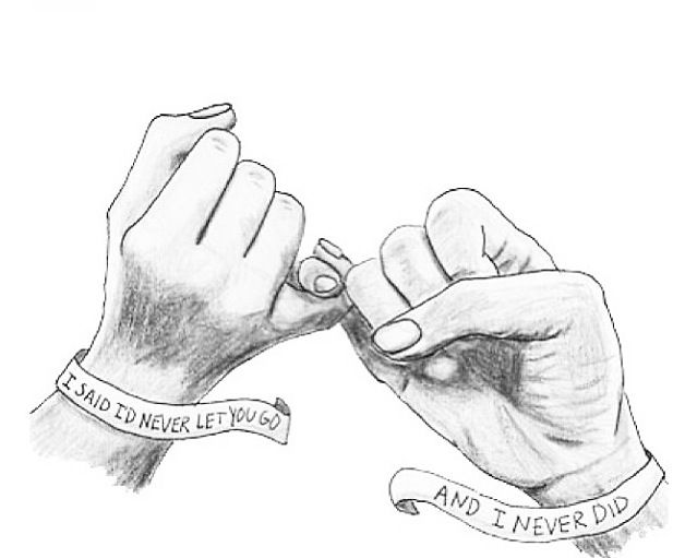 The promise that i keep | Drawings for boyfriend, Bff