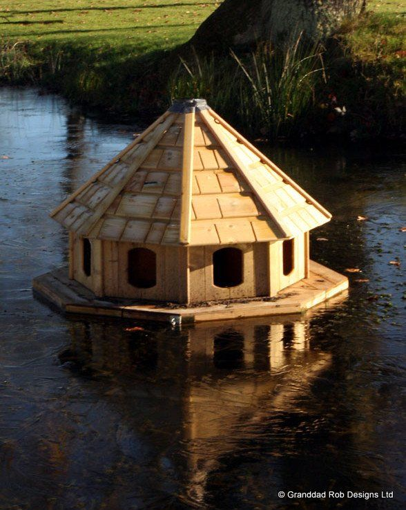 epsom eight floating duck house | duck house, house and farming