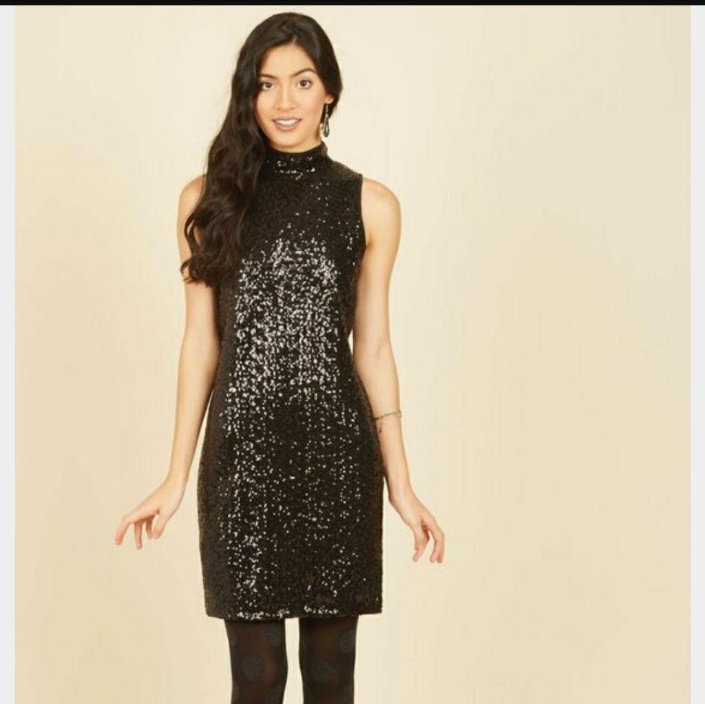 Kensie sequin dress in black products