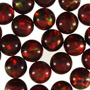 4mm Multi-Cherry Opal Replacement Bead