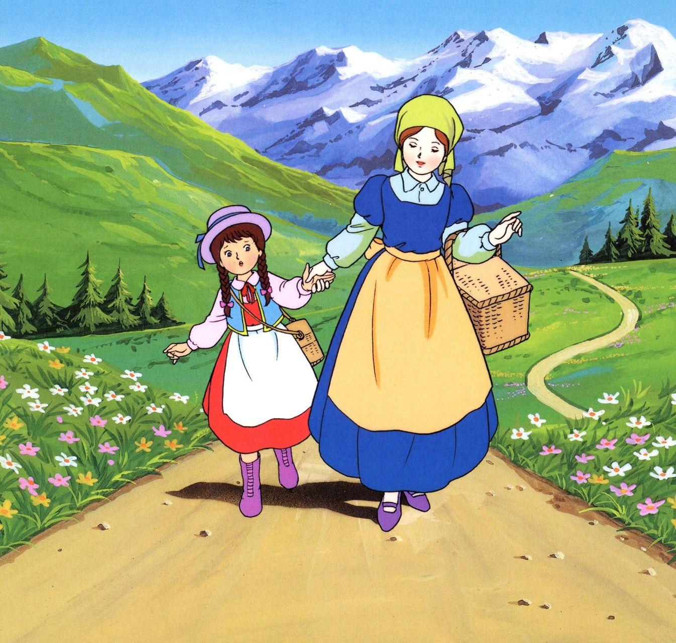 Amazoncojp アルプスの少女ハイジ よい子とママのアニメ絵本 電子書籍