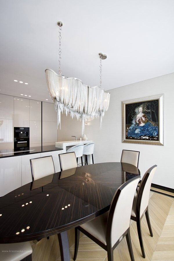 Nowoczesna Kuchnia Polaczona Z Szykowna Jadalnia Architektura Wnetrza Technologia Design Homesquare Home Decor Interior Furniture
