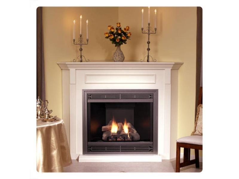 corner gas fireplaces Empire Tahoe 36 Direct Vent Premium